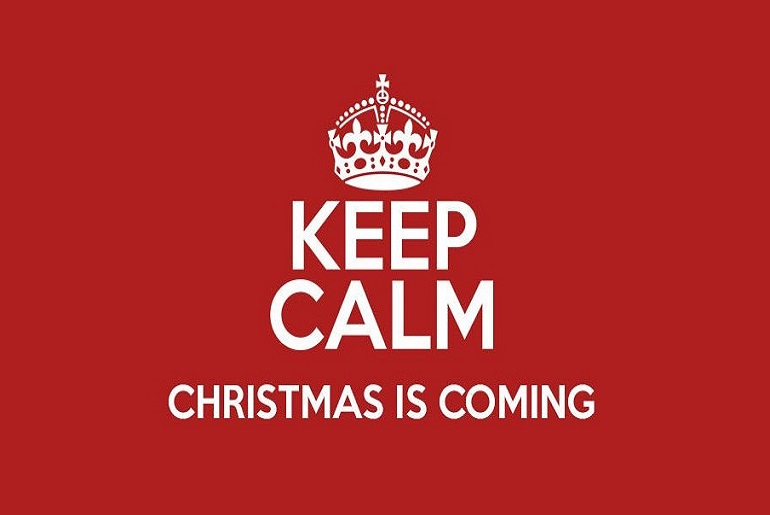 Keep Calm Christmas.Keep Calm Christmas Is Coming Conquest Artenriching The